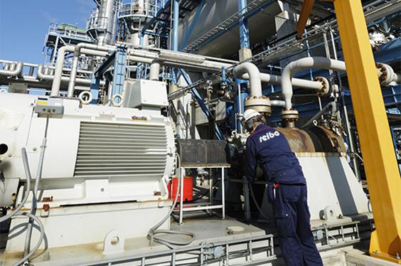 maintenance moteur sur site