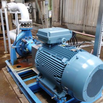 maintenance pompes électriques industrielle